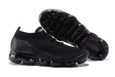 Cheap Nike Air VaporMax Flyknit 2 Unisex shoes #black Only Price $65 To Worldwide and Free Shipping whatsapp:8613328373859