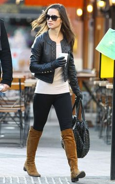 I know it is almost summer in Miami but my next big purchase will be a leather jacket
