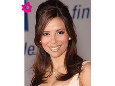 The pleasure is back: celebrity hairstyles eva longoria Party Hairstyles For Girls, Unique Wedding Hairstyles, Haircuts For Long Hair, Bride Hairstyles, Down Hairstyles, Straight Hairstyles, Updo Hairstyle, Hairdos, Brunette Hairstyles