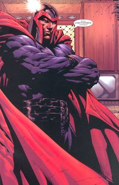 Magneto by David Finch...best Magneto ever! God look at that detail....EPIC!