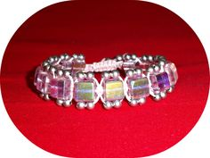 bracelet from beads and a lace