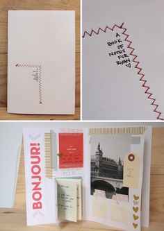 Cutest DIY card for him everrrr <3 (there's actually another page too)