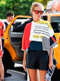 NYFW+Street+Style - http://HarpersBAZAAR.co.uk