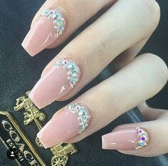 100+ best ideas Gorgeous Pink Nail Arts design you will like❤