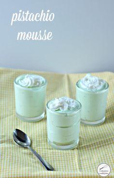 pistachio mousse