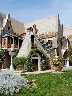 villa torlonia - house of the owls