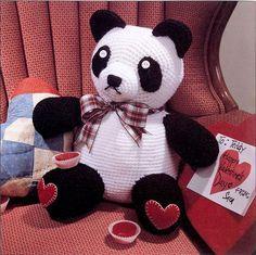 Free Pattern Friday: Sweetheart Panda