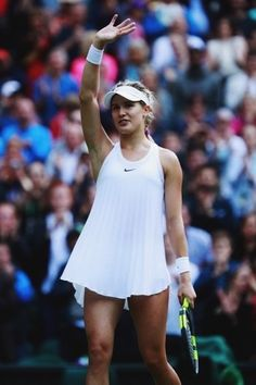 """Everyone has ups and downs, (in) tennis and in life. I have experienced both of those to the extreme probably in tennis."" - Genie Bouchard 