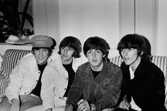during their tour in Spain, 1965