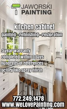 Professional Kitchen Cabinet Painters And Refinishing Company. Serving The  Entire Treasure Coast Of Florida.