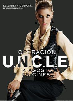 #ElizabethDebicki en #OperaciónUNCLE