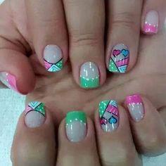Acrylic Nails, Gel Nails, Nail Envy, Picts, Shellac, Hair And Nails, Thor, Elsa, Finger