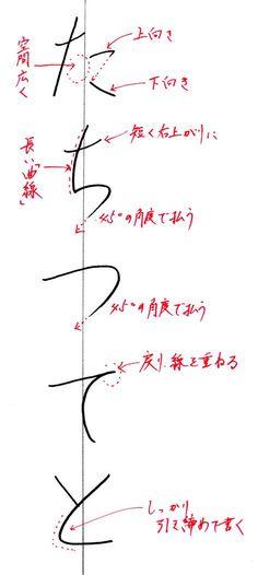 た~と Japanese Handwriting, Hiragana, Japanese Calligraphy, Japanese Language, Artwork Design, Alphabet, Projects To Try, Typography, Hair Accessories