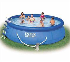 Zwembad Easy Set Incl. Filter/Pomp (Ø:457cm, H:122cm) (Intex) #zwembad #zwembaden #intex