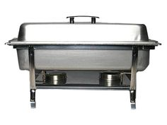 Chafer, Stainless 8qt Commercial  Image  Rental Rate: $13.00