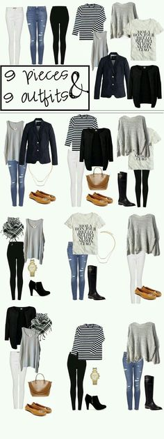 Super comfy capsule wardrobe! Love the neutrals!