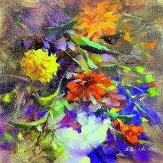 "Daily Paintworks - ""Fresh Picks"" - Original Fine Art for Sale - © Sabrina Zhou"