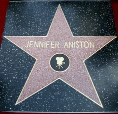 The star of actress Jennifer Aniston is pictured after it was unveiled on the Walk of Fame in Hollywood, California. Description from ibtimes.co.uk. I searched for this on bing.com/images