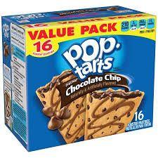 Resultado de imagen para pop tarts chocolate chips