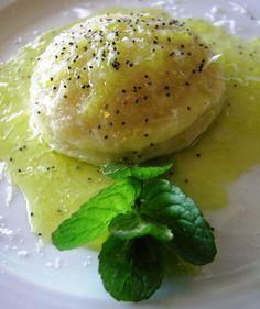 gnocchi farciti di ricotta e menta / Filled potato dumplings with ricotta cheese and mint