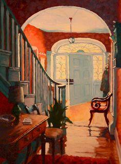 """Returning to Ing-Va (Study),"" by Larry Bracegirdle Oil Painting App, Light Painting, Painting & Drawing, Illustrations, Illustration Art, Interior Rendering, Pretty Art, Painting Inspiration, Art Boards"