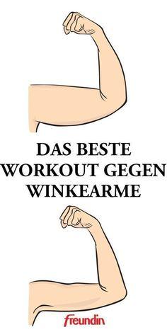 Das beste Workout gegen Winkearme