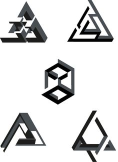 Impossible Spaces ▲ by Gianpaolo Tucci, via Behance