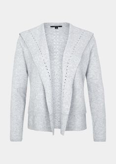 Feinstrickjacke Jetzt bestellen unter: https://mode.ladendirekt.de/damen/bekleidung/strickjacken-und-maentel/strickjacken/?uid=df805249-ee83-5f80-a671-a09bffaa7a52&utm_source=pinterest&utm_medium=pin&utm_campaign=boards #strickjacken #strick #bekleidung #maentel