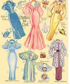 Grown up Paper dolls