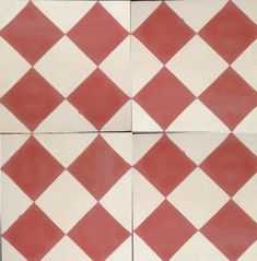 Victorian Classic Red Encaustic Tile