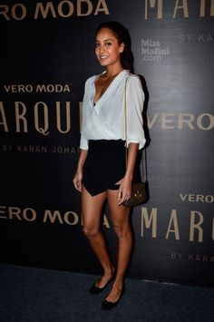 Lisa Haydon. Skort. Available on www.candidlycouture.com