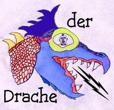 der Drache 02 colored poster edition by condemnedtomemories.deviantart.com on @deviantART