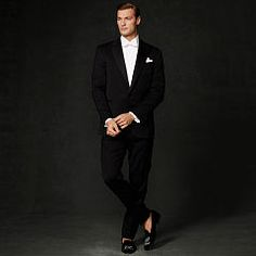 Drake Peak Lapel Tuxedo - Purple Label Best Sellers - RalphLauren.com