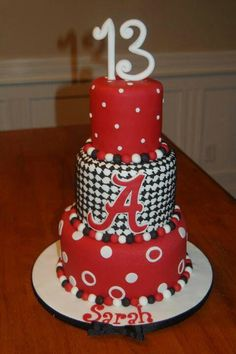 Roll TideI will have to do a cake like this for sure LOVE IT