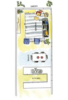 Open-plan layout tips from Shannon Vos Shannon Vos of Vos Creative, tackles that modern dilemma: how to get combined spaces right.Here are his top tips for open-plan layouts. Small Open Plan Kitchens, Open Plan Kitchen Dining Living, Open Plan Living, Living Room Kitchen, Living Room Plan, Kitchen Decor, The Plan, How To Plan, Open Plan Apartment