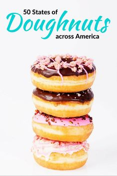 50 States of the best doughnuts in America: Donut lovers rejoice. You can now find fabulous friosted (or not) confections across the United States.