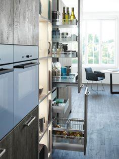 CLASSIC-FS   XYLO › Wood › Modern style › Kitchen › Kitchen   LEICHT – Modern kitchen design for contemporary living