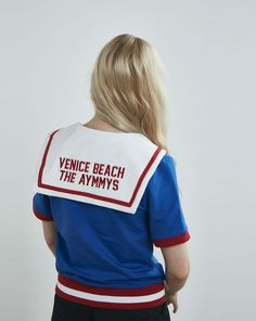 Aymmy in the Batty Girls Venice Beach Sailor Top