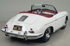 Porsche 356 B Roadster Porsche 356 Speedster, Porsche Gt3, Porsche Cars, Ferrari, Lamborghini, Peugeot, Best Classic Cars, Classic Sports Cars, Vintage Porsche