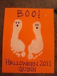 une déco toute simple pour #halloween A faire avec les #enfants