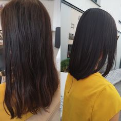 Perfect haircut with a shine brown hair color Trends, Brown Hair Colors, Hair Cuts, Hairstyle, Long Hair Styles, Change, Beauty, Shaving Machine, Hair Color Brown