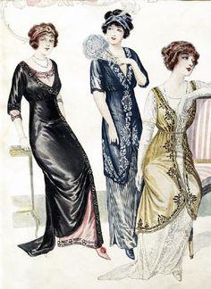 1910s Fashion - 1910 - 1919
