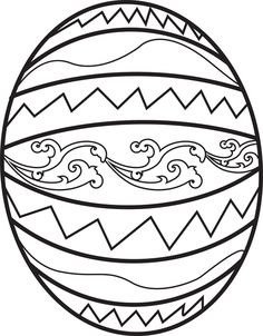 This is a fun Easter coloring page for kids of a decorated Easter egg!  It's free and printable so check it out: http://www.mpmschoolsupplies.com/ideas/4566/easter-egg-coloring-page-1/