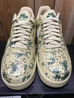 (eBay link) NIKE MEN AIR FORCE 1 07 LV8 TEAM GOLD CAMO 823511-700 MEN Sz  8.5  fashion  clothing  shoes  accessories  mensshoes  athleticshoes 86c0d1c47