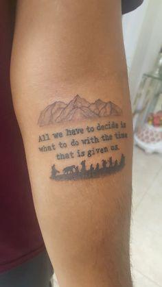 Old School Tattoo Canton Road Fresh My First Tattoo Love Having A Piece Of tolkien On Me Lotr Gandalf Tattoo, Hobbit Tattoo, Tolkien Tattoo, Lotr Tattoo, Ring Tattoos, Piercing Tattoo, Body Art Tattoos, Sleeve Tattoos, Tatoos