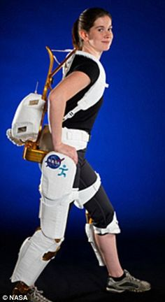 Nasa developing exoskeleton to help astronauts exercise in zero gravity and help disabled people walk on Earth