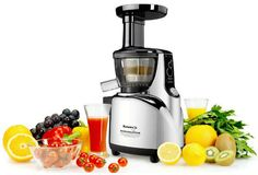 Enjoy fresh juice anytime with the Kuvings Silent Upright Masticating Juicer Silver . This ultra-quiet juicer presses and extracts flavorful,. Healthy Food Swaps, Raw Food Recipes, Healthy Recipes, Healthy Foods, Best Vegetables To Juice, Centrifugal Juicer, Juicer Reviews, Juice Maker, Best Juicer