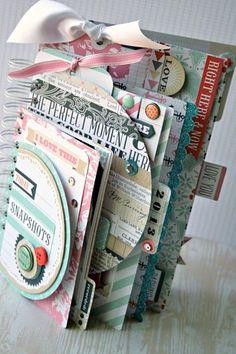 PUNTXET: Inspiración para álbumes de #scrap #scrapbook #DIY