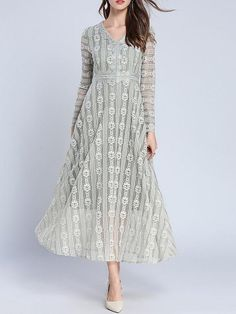 Buy Maxi Dresses For Women from Fantasyou at Babyonlinewholesale. Online Shopping A-line Daytime Long Sleeve Elegant Guipure lace Maxi Dress, The Best Daytime Maxi Dresses. Discover unique designers fashion at Babyonlinewholesale. Cheap Dresses Uk, Cheap Semi Formal Dresses, Cute Lace Dresses, Inexpensive Prom Dresses, Prom Dresses Uk, Casual Dresses, Maxi Dresses, Fashion Dresses, Nylons
