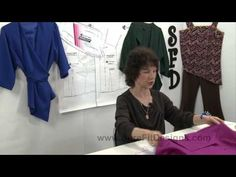 ▶ Tutorial: Asymmetrical & Symmetrical Bodice Designing by Sure Fit Designs - YouTube